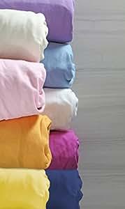 Magnolia Organics Fitted Crib Sheet - Porta, Butterscotch