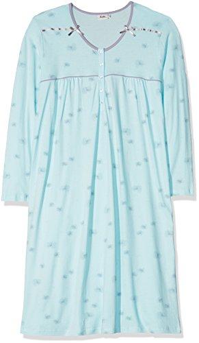 Hajo Damen Nachthemd 44552, Grün (Hellpetrol 674), X-Large (Herstellergröße: 48/50)