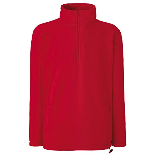 Homme Fruit Loom of the Shirt Rouge Sweat wPF1wq