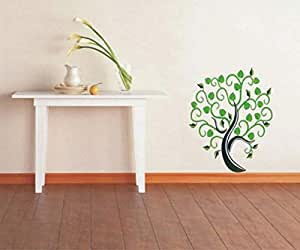 Xpert Decor Ds-anh-028 Removable Wall Sticker (green)