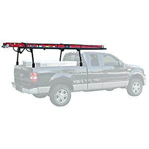 Buyers Products 1501100 Black Ladder Rack