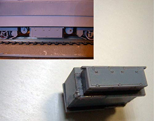 Sala-Ctr - Train Scale Model 1:87 HO railway accessories with materials DIY Locomotive chassis ()