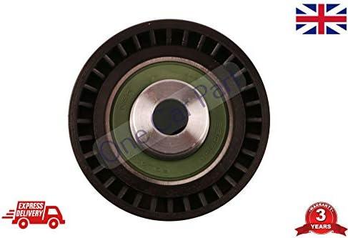C-Max 5320320 10 - Polea guía de desviación para tensor de correa acanalada en V: Amazon.es: Coche y moto