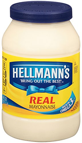 Hellmann's Mayonnaise, Real 48 Ounce (Pack Of 12) by Hellmann's