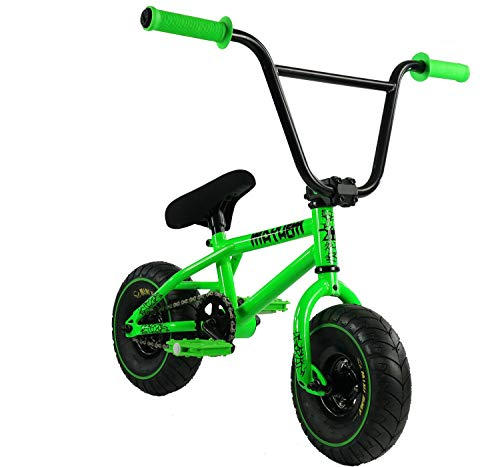 Mayhem Riot Mini BMX Bike (Toxic Green)