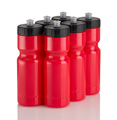 50 Strong Sports Squeeze Water Bottle Team 6