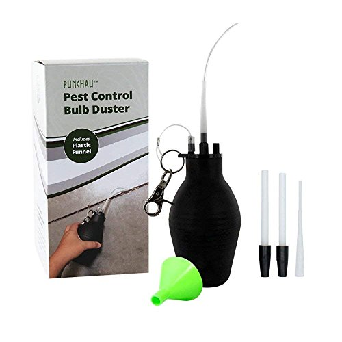 (Easy-to-Use Pest Control Bulb Duster - Evenly Dispenses Pesticide to Get Rid of Bugs & Pests)