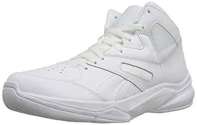 Reebok Men's Pro Heritage 2 Basketball Shoe, White/White/White, 6.5 M US
