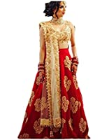 New Anarkali Fashionable Style For Party / Wedding / Festival Wear Embroidery Salwar Suit / Full Length Gown Golden Color Free Size