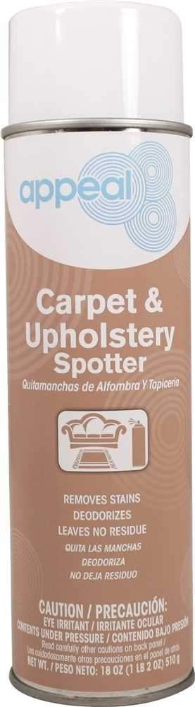 Appeal Carpet and Upholstery Spot Remover, Clear, Butyl Scent, 20 Oz. -2476969