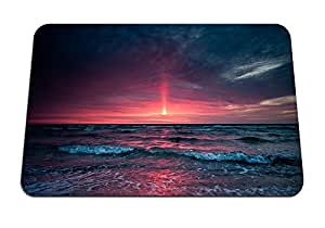 """Red Waters- Gaming Mouse Pad - Mouse Pad - 10.24""""x8.27"""" inches"""