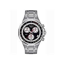 Tissot Men's PRX Special Edition 40mm Steel Bracelet & Case Quartz Black Dial Analog Watch T0774171105111