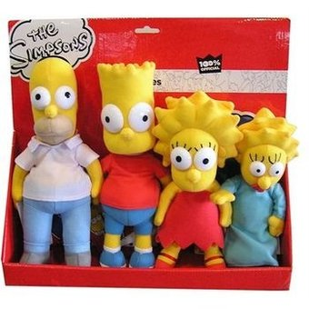 United Labels 4 Peluches Simpsonshttps://amzn.to/2EmPA8B