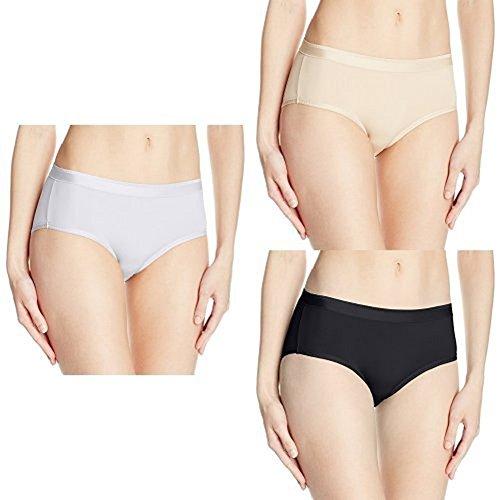 Vanity Fair Women'sComfort+Comfort Where It Counts Hip Brief Panty 18163