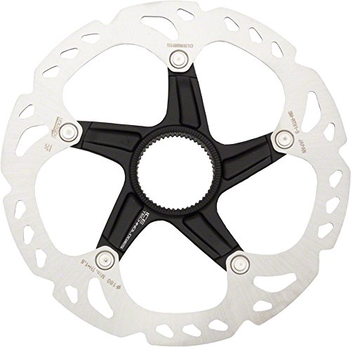 Center Lock Rotor (Shimano Deore XT Centerlock Bicycle Hydraulic Disc Brake - SM-RT81-S - 160mm (160MM))