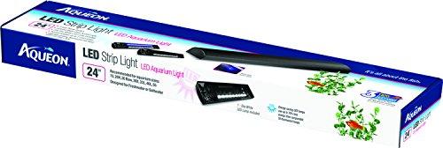 AQUEON PRODUCTS - GLASS 21101 AQUEON STRIP LIGHT LED BLACK 24 INCH