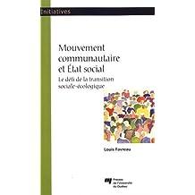 Mouvement communautaire et État social : Le défi de la transitio