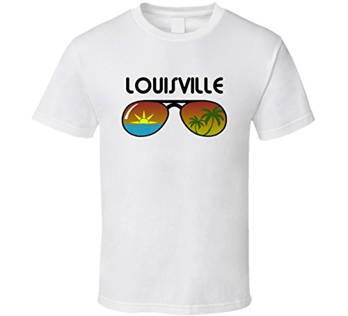 Louisville Sunglasses Favorite City Fun In The Sun T Shirt L - Sunglasses Louisville