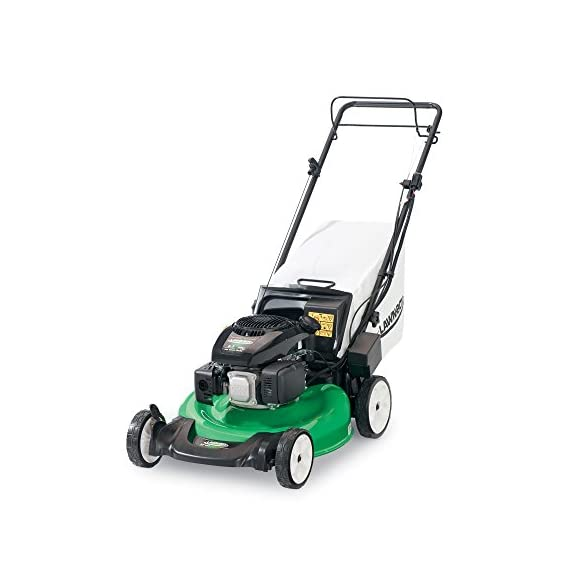 Lawn-Boy 17734 21-Inch 6.5 Gross Torque Kohler Electric Start XTX OHV, 3-in-1 Discharge Self Propelled Lawn Mower 3 Electric start is the easiest way to start your mower; just turn the key and mow 2-Point Height-of-Cut System allows you to quickly adjust cutting heights from one side of the mower 3 year Tru-Start Commitment - starts with 1 or 2 pulls or Lawn-Boy will fix it for free