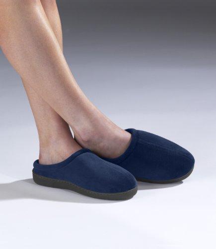 Elite Comfort Pedic Memory Foam Slippers Small oT4YJcKP
