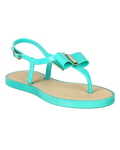qupid jelly sandals - 4