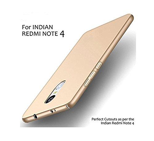 Chevron C21 Hard Back Case Cover for Xiaomi Mi Redmi Note 4  Gold
