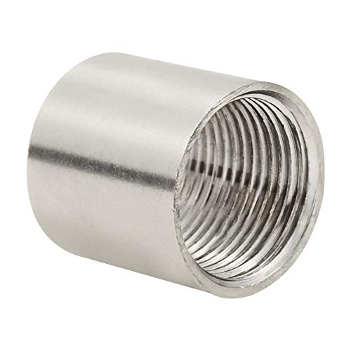 Beduan Stainless Steel Cast Pipe Fitting, Coupling, 1/2