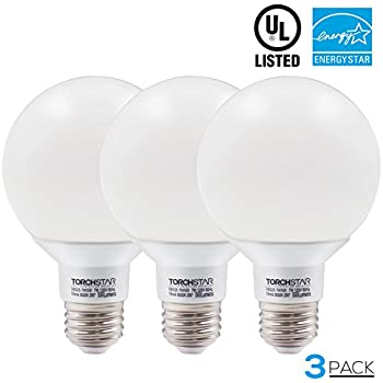 Good G25 Globe Led Bulb Dimmable 7W 60W Equiv., Vanity Style Daylight 5000K For  Makeup