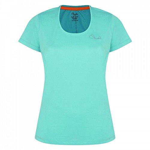 Dare 2b Camiseta de Manga Corta Modelo Reform II Para Mujer Azul Bahama