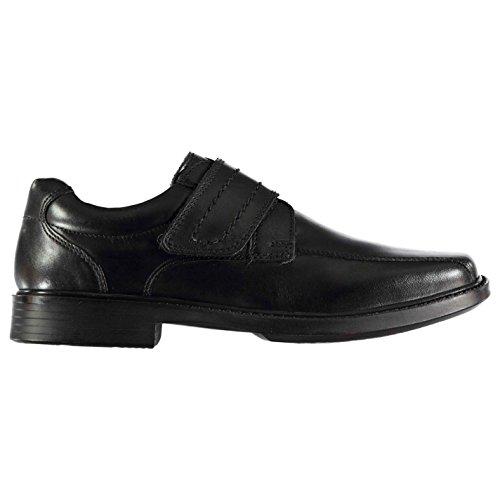 Kangol Kids Boys Castor Strap Shoes Child Slip On Padded Ankle Collar Small Heel Black UK C13 - Uk Kangol
