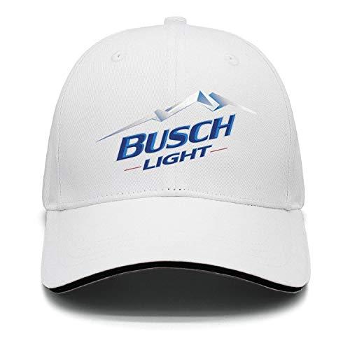 Unisex Beer-Busch-Light-Logo- Baseball Hat Dad Cap Rock Punk caps -