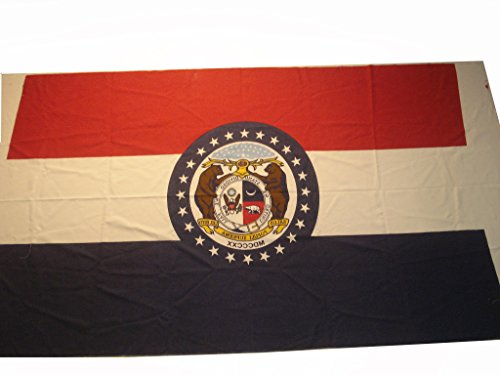 Brass Blessing Large - Missouri Vintage Marine Flag/Banner - 100% Cotton - 95 X 60 INCHES Approx - 100% Original (95)