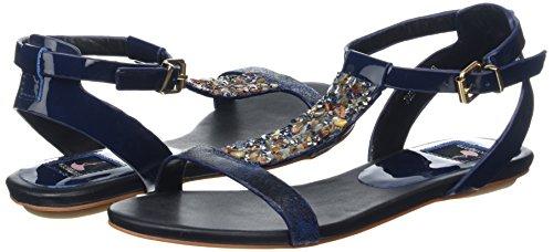 Giudecca 27 - Sandalias Mujer Multicolor - Mehrfarbig (black/blue)
