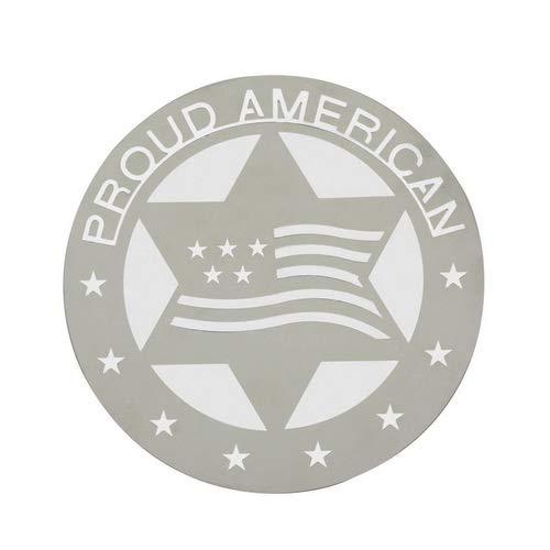 Pilot Stainless Steel Proud American Emblem (TT126) ()