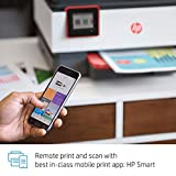 HP OfficeJet Pro 8035 All-in-One Wireless Printer - Includes 8 Months of Ink Delivered to Your Door, Smart Home Office Productivity - Coral
