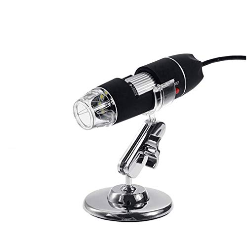 - ZTT Digital Microscope, 500X-1000X Magnification 8 LED Digital USB Microscope Portable Handheld Electronic Stereo Endoscope Camera