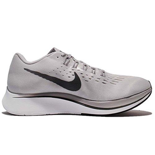 Nike Mens Zoom Flyga Löparskor Vast Grå / Antracit-atmosfär Grå