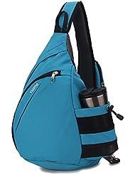 YUOTO Sling Backpack One Strap Crossbody Sling Style Shoulder Bag Women Men