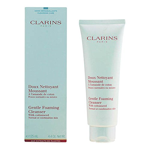 Price comparison product image Clarins Gentle Foaming Cleanser with Cottonseed for Normal or Combination Skin 125ml