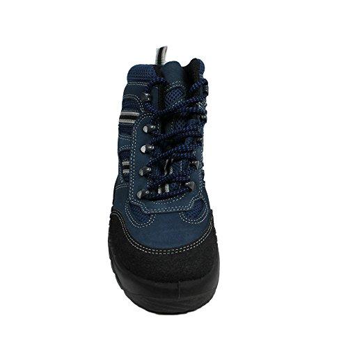 Berner twister berufsschuhe businessschuhe chaussures de sécurité s1 chaussures de trekking-bleu - Bleu - Bleu, Taille 43