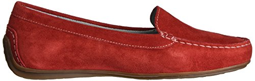 Sioux 60264, Mocasines Mujer Rojo (Fire)