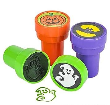 Amazon.com: Empaque de 48 sellos de Halloween, incluye ...