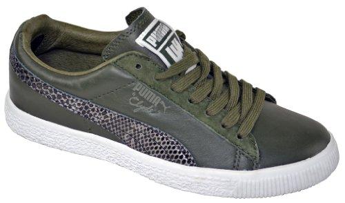 Puma - Zapatillas de skateboarding para hombre verde Snakeskin forest night verde - Snakeskin forest night