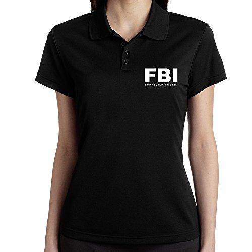 Teeburon FBI DEPT Bodybuilding Polo Donna