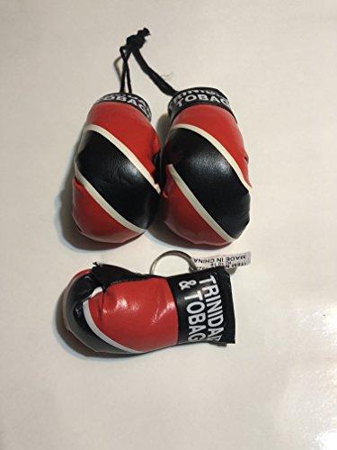 Trinidad & tobago Mini Boxing Glove & Keychain Boxing Glove (Trinidad Boxing Gloves)