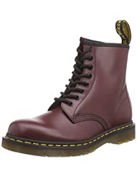 Dr. Martens Man's Dr. Martens 8 Eyelet Cherry Red Smooth Boot 41(IT) - 11(US) Red