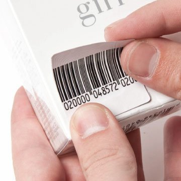 Checkpoint Compatible 1.5'' RF Labels Barcode Style 1,000-Roll NEW by ALL-TAG (Image #3)