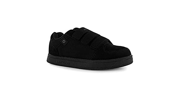 Amazon.com   Airwalk Kids Brock Childrens Skate Shoes Boys Casual Faux Suede Finish Trainers Charcoal UK 2 (34)   Skateboarding