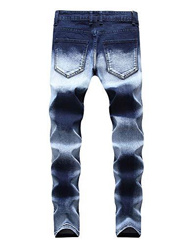 Versaces Jeans Cowboy Cerniera Colore Vestibilità Maschio Dritto Elasticità Color Pantaloni Slim 1 Hr5Hq