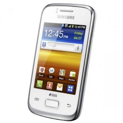 Amazon.com: Samsung GT-S6102 Galaxy Y Duos Dual SIM Smartphone with ...